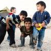 Waka Waka enfants dans un camp de refugies