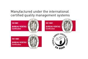 Certification ISO et SA